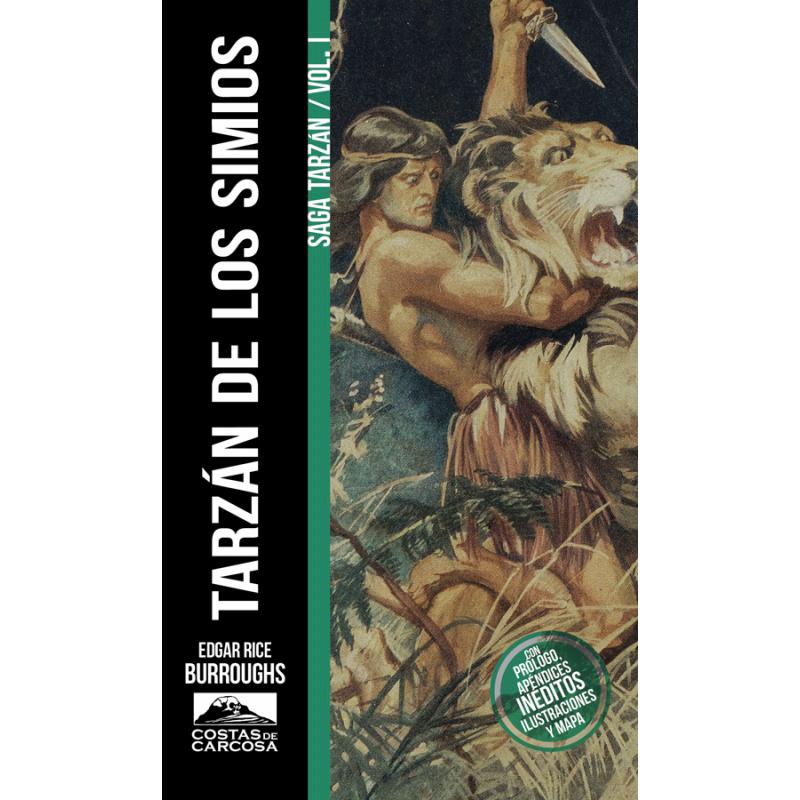 Tarzán de los Simios (Saga Tarzán, 1)