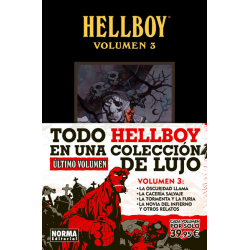 Hellboy: edición integral. Vol, 3
