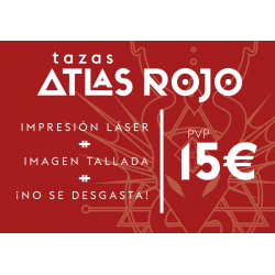 Taza Atlas Rojo