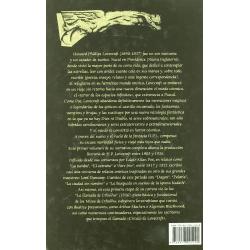 Narrativa completa de H. P. Lovecraft (Vol. I) - Contraportada