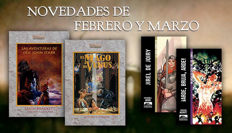 Novedades de febrero y marzo