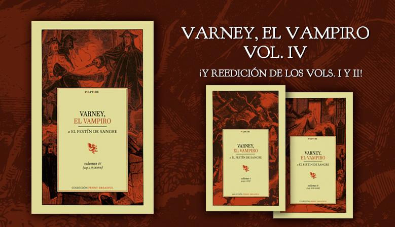 Varney, el vampiro - vol. IV